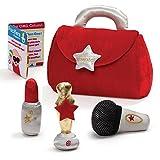 lil microphone - Gund Baby Plush Baby Purse Playset, My Lil Super Star