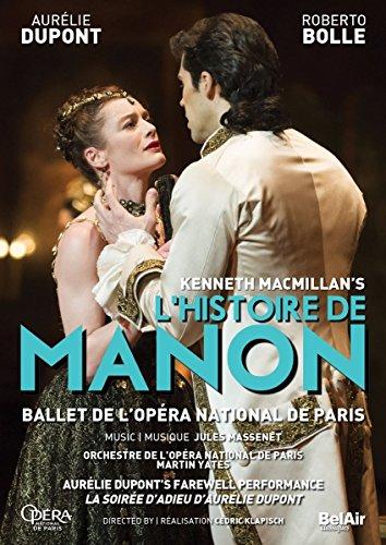 Kenneth MacMillan\'s L\'histoire de Manon (Blu-ray)