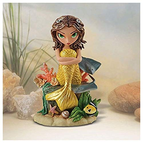 Beguiling Tiger - The Bradford Exchange Remarkable Rae Sirens Of The Sea Figurine By Jasmine Becket-Griffith