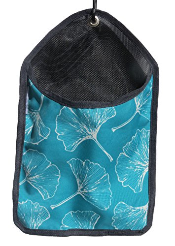 Laundry Storage Clothes Pin Bag (Blue Ginkgo)