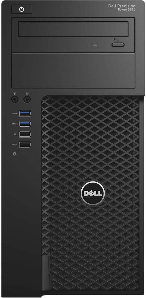 Dell Precision 3620 Tower Busines PC, Intel Quad Core i7-6700 up to 4.0GHz, 16G DDR4, 512G SSD, HDMI, DisplayPort, Windows 10 Pro 64 Bit-Multi-Language Supports English/Spanish/French(Renewed)