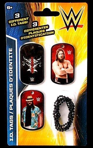 WWE Wrestlers Daniel Bryan & Bray Wyatt ID Dog Tags Series 2 - Set K - 3 Count