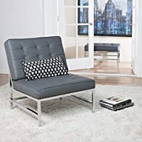 Studio Designs 72000 Ashlar Accent Chair, Grey