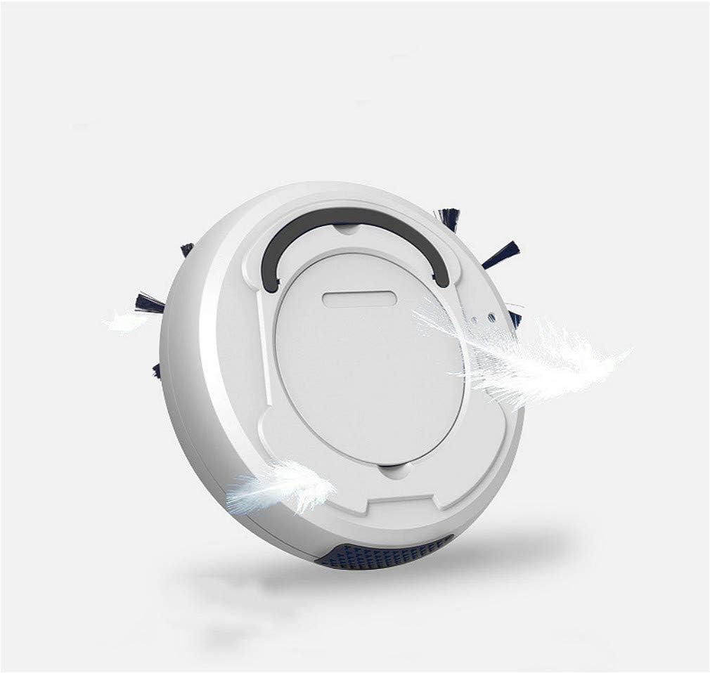 #N/A Robot de balayage intelligent, anti-chute intelligent, faible bruit, démarrage à un bouton de chargement USB, Noir , 26*26*6.5cm Noir