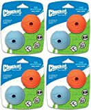Chuckit! The Whistler Ball Small 8pk (4 x 2pk)