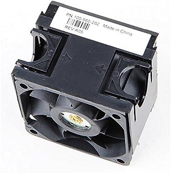 Emc Ventilador 100-560-202 ventilador DC 12V 4 pines Rack 64x64x45mm Dell AX100 AX150: Amazon.es: Electrónica