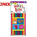 Wikki Stix Re-Usable Creative Fun Wax Covered Yarn Stix