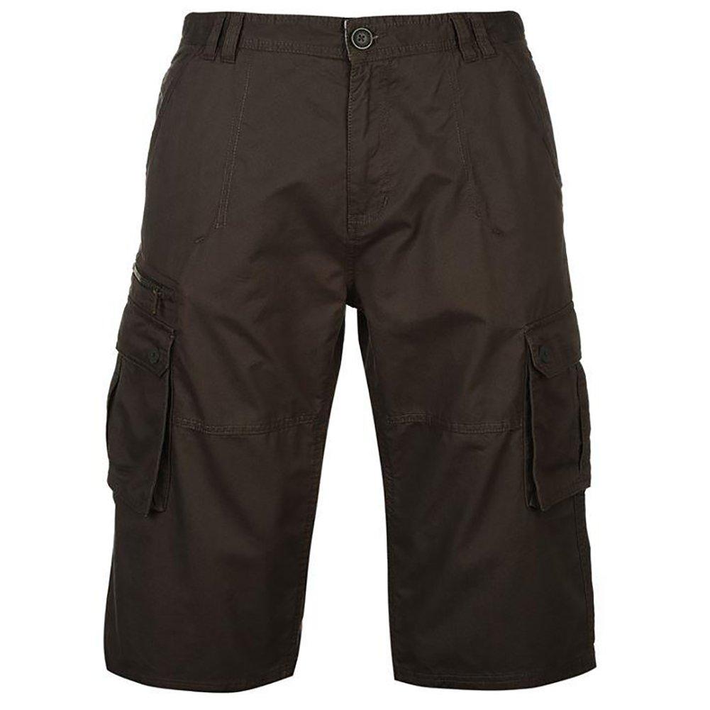 TALLA M. Pierre Cardin Hombre Pantalones Cortos Cargo de Algodón Tres Cuartos Longitud - Multicolor - Medio-X grandes tamaños disponibles
