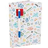LEGO Stationary Journal with Brick Plate