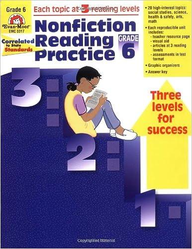Nonfiction Reading Practice Grade 6
