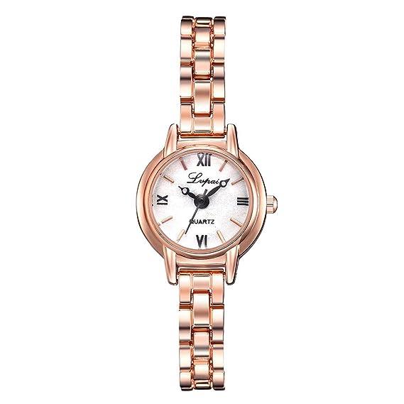 Firally - Reloj de Pulsera para Mujer, Simple e Informal ...
