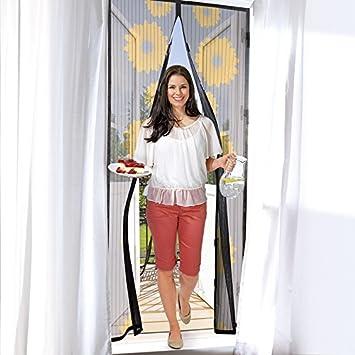 Easymaxx Turvorhang Magic Click 90 X 210 Cm Schutz Vor Fliegen Und Anderen Insekten Praktischer Magnetverschluss Einfache Montage Ohne Bohren Und Schrauben Motiv Sonnenblume Amazon De Baumarkt