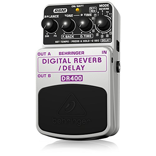BEHRINGER DIGITAL REVERB/DELAY (Delay Processor)