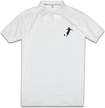 ZOOA Los Jugadores de Fútbol Americano para Hombre Polo Camisas Cuello Camisas Polo Camisetas - Negro - XXL: Amazon.es: Ropa y accesorios