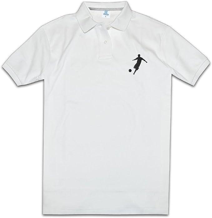 ZOOA Los Jugadores de Fútbol Americano para Hombre Polo Camisas ...