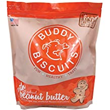 Buddy Biscuits Oven Baked - 3.5 lb Value Bag in Peanut Butter