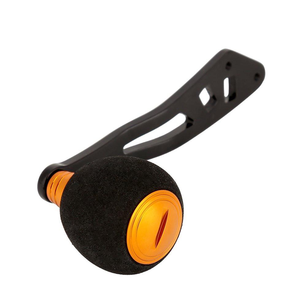 Powergriff mit Befestigungsmaterial Angelrollengriff//-Knauf Tbest Rollenersatzteile f/ür Low-Profile-Spinning Angelrolle