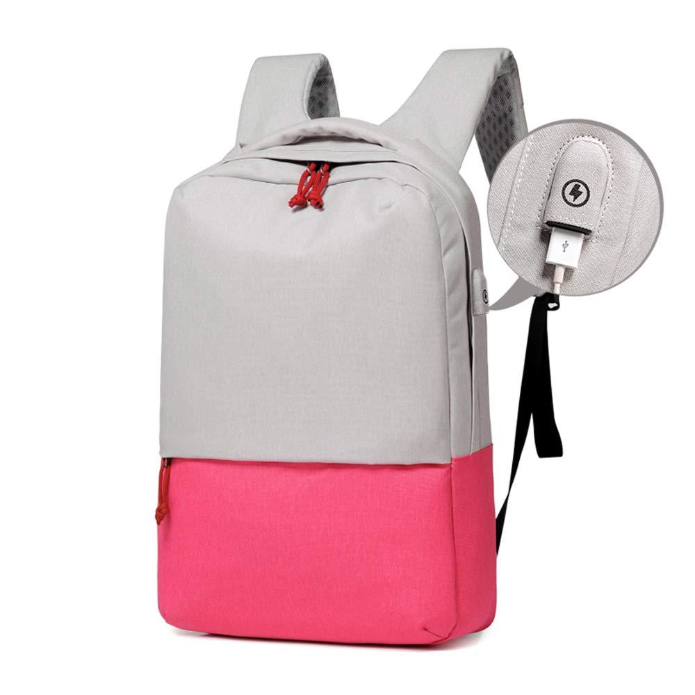 Poudre  sac à dos WMQT étanche, Ordinateur 14-15,6 Pouces Chargeant Un Grand Sac pour Lycéen