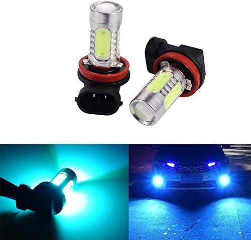1 Pair H11 55w 7500K Ice Blue Xenon Front Fog Spot Light Bulbs halogen lamp 12V
