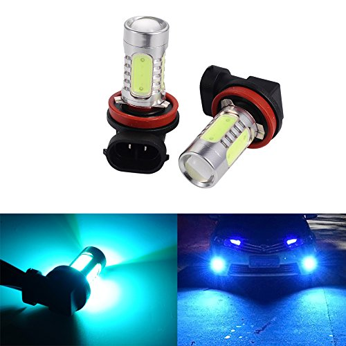 ATMOMO 2 PCS Car H8 H11 33-SMD LED Xenon Head Light Headlight Bulbs Lamp or Daytime Running Lights Lighting DRL 12V 7.5W - ICE Blue