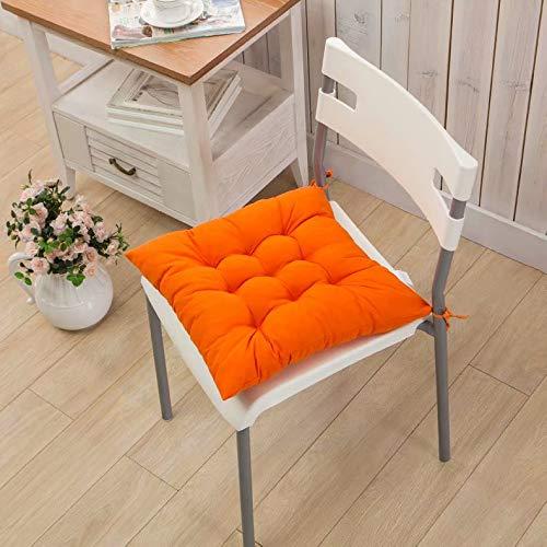 Cojín de silla acolchado de color liso cojín de silla Cojín ...
