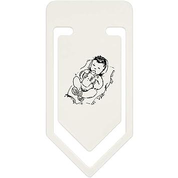 Azeeda 91mm Baby Grosse Plastik Buroklammer Cc00007807 Amazon De