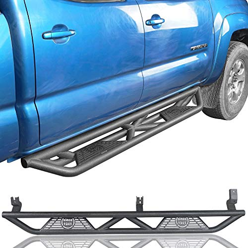 u-Box Tacoma Tubular Side Step Running Board Nerf Bars for 2005-2019 Toyota Tacoma 4-Door ()