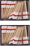 2 Boxes of Mini England Toothpick Flags%