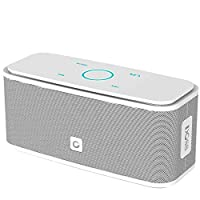 Bluetooth Speaker, DOSS SoundBox Portable Wireless Bluetooth 4.0 Touch Speakers with 12W HD Sound and Bold Bass, Handsfree, 12H playtime for Phone, Tablet, TV, and More[White]