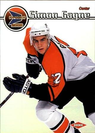 Amazon.com  1999 Pacific Prism Hockey Card (1999-00)  101 Simon Gagne Near  Mint Mint  Collectibles   Fine Art acd83f2f6