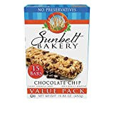 Sunbelt Bakery Chewy Chocolate Chip Granola Bars, 1.1 oz Bars, 15 Count For Sale
