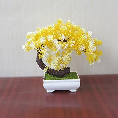 LOF-fei Artificiales plantas Bonsai Bonsai decoracion mesa de ...
