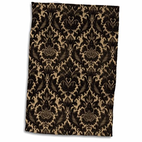 3dRose TNMPastPerfect Damask - Deep Brow - Brown Damask Gift Shopping Results