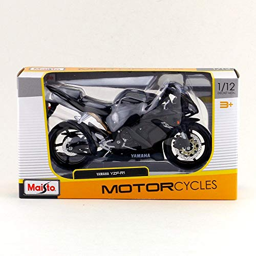 Greensun 1:12 Scale/Simulation Diecast Model Motorcycle Toy/Yamaha YZF-R1 Supercross/Delicate Children's Toy or -