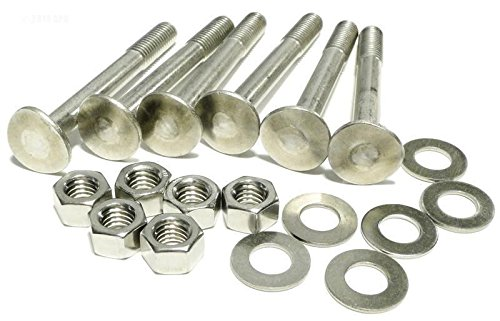 S.R. Smith 60704 Stainless Steel Ladder Bolt and Nut Hardware Kit