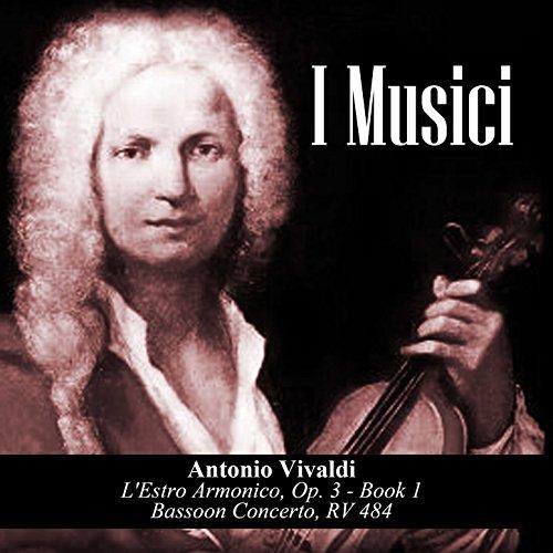 1 Music Bassoon Book (Antonio Vivaldi: L'Estro Armonico, Op. 3 - Book 1 / Bassoon Concerto, RV 484)