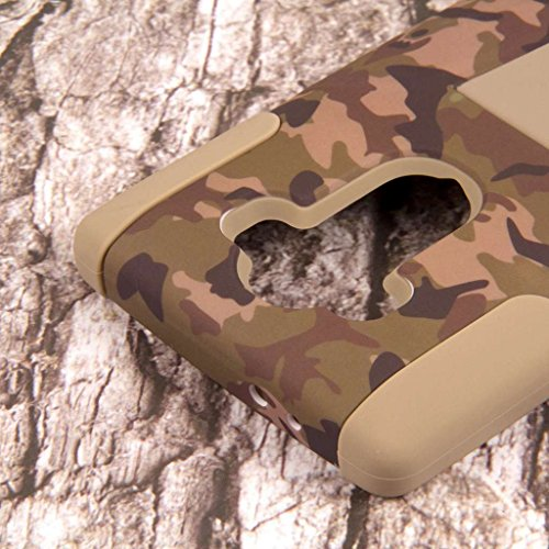 LG G4 Camo Case, MPERO IMPACT X Series Dual Layered Tough Durable Shock Absorbing Silicone Polycarbonate Hybrid Kickstand Case for LG G4 [Perfect Fit & Precise Port Cut Outs] - Hunter Camo Photo #4