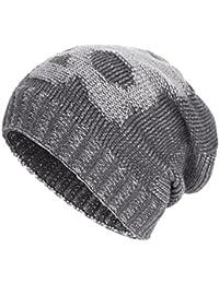 Winter Slouchy Beanie Hats Unisex Skull Knit Wool Ski Cap Hat 4 Colors d4708330a7df