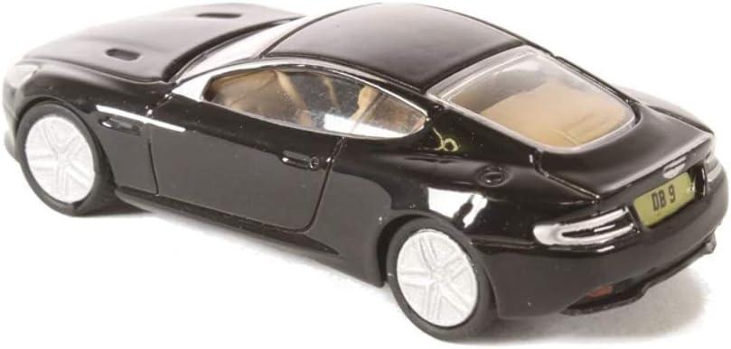 Aston Martin DB9 Coupe Miniature d/éj/à mont/ée voiture miniature noire RHD Oxford 1:76