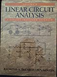 img - for Linear Circuit Analysis: A Laplace Transform Approach, Vol. 2 book / textbook / text book