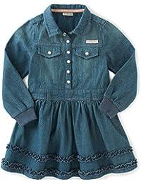 Baby Girls' Long Sleeve Denim Dress and Panty