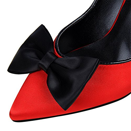 sera alto 5 donna scivolare nel 8 tacco 34 scarpe centimetri spillo scoperta a Tacco sexy da da Gheel punta a cintura 7YAUwOq5W