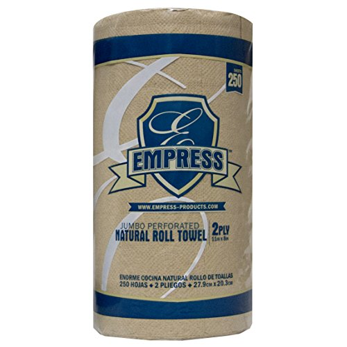 Empress E21251 Kitchen Roll Towel, 2-Ply, 8