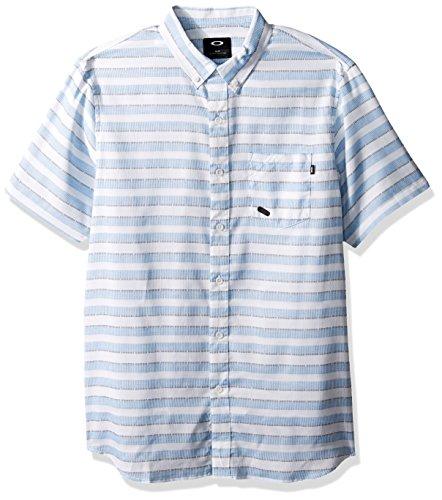 Oakley Men's Choice Woven Shirt, White, - Watches Oakley New