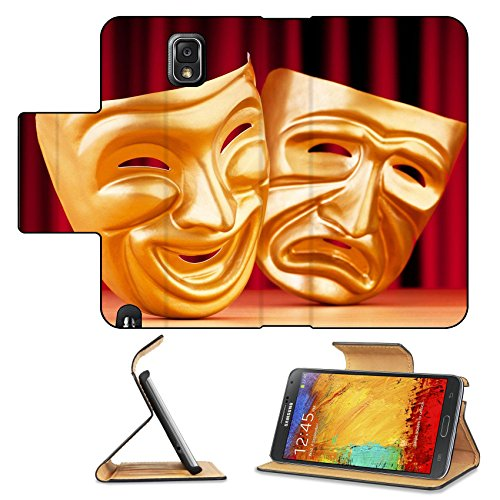 [Liili Premium Samsung Galaxy Note 3 Flip Pu Leather Wallet Case Masks with the theatre concept Photo 9546544 Simple Snap] (Costumes For Drama)