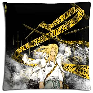"""18x18 18""""x18"""" 45x45cm pillowshell cases protector covers Polyester - Cotton Durable Silky soft Soul Eater"""