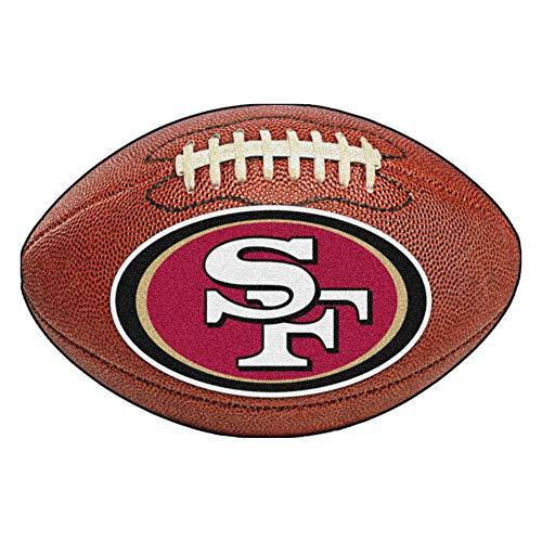 San 49ers Rug Francisco - FANMATS NFL San Francisco 49ers Nylon Face Football Rug