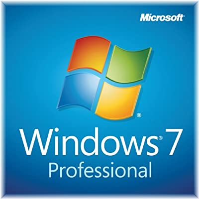Windows 7 Professional Sp1 32bit DVD 1 Pack with COA