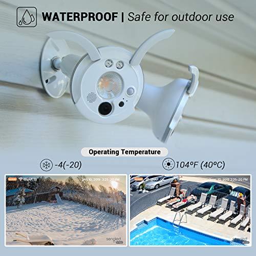 Sengled Smart Flood Light Camera Outdoor Security Camera