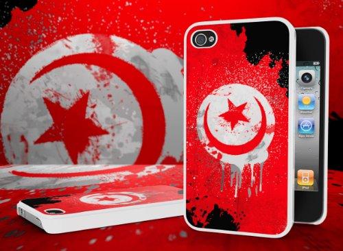 Master Case - Coque iPhone 4/4S Drapeau Grunge - Tunisie